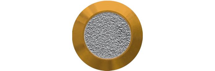 Messing mit Farbfüllung aus abrasivem Klebeband