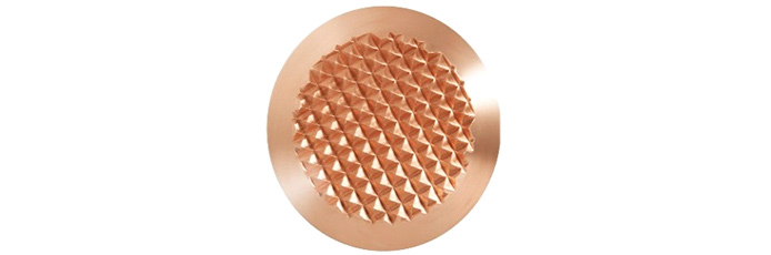 Bronze mit Diamantprägung