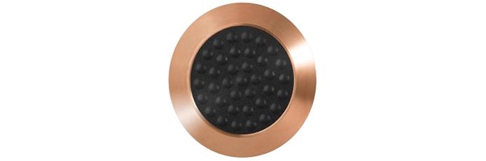 Bronze mit Kunststofffüllung und Noppen