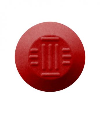 Noppe aus Polyurethan 25mm Durchmesser, Flechtmuster