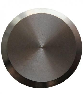 Noppe aus Edelstahl 35mm Durchmesser, blank