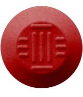 Noppe aus Polyurethan 35mm Durchmesser, Flechtmuster