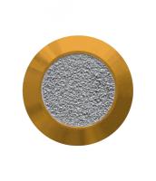 Noppe aus Messing 25mm, mit Farbfüllung aus abrasivem Klebeband