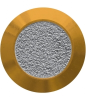 Noppe aus Messing 35mm, mit Farbfüllung aus abrasivem Klebeband