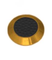 Noppe aus Messing 25mm Durchmesser, mit Kunststofffüllung und Noppen
