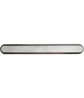 Linien aus Edelstahl mit Kunststofffüllung und Noppen, 25x280mm