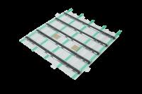 System IZI-ZIP - Linien Installations Kit - Blister mit 5 Linien (16 mm) ca. 295 x 257 mm, selbstklebend (Acrylschaum)