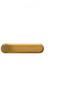 Leitlinien aus Messing mit längslaufenden Rillen, 25x140mm