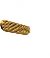 Leitlinie aus Messing mit Diamantmuster, 35x140mm