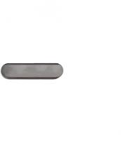 Leitlinie aus Edelstahl, 35x140mm, blank