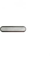 Linien aus Edelstahl mit Kunststofffüllung und Noppen, 25x140mm