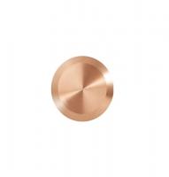Noppe aus Bronze 25mm Durchmesser, blank