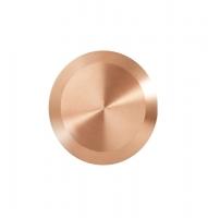 Noppe aus Bronze 35mm Durchmesser, blank