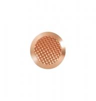 Noppe aus Bronze 25mm Durchmesser, mit Diamantprägung