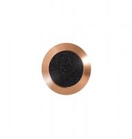 Noppe aus Bronze 25mm, mit Farbfüllung aus abrasivem Klebeband