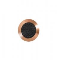 Noppe aus Bronze 25mm Durchmesser, mit Kunststofffüllung und Noppen