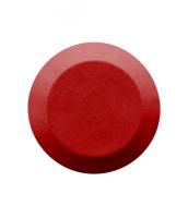 Noppe aus Polyurethan 25mm Durchmesser, blank