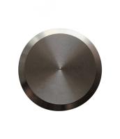 Noppe aus Edelstahl 25mm Durchmesser, blank
