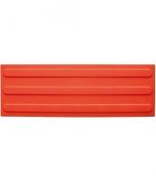 Platte aus Polyurethan 150x450x5mm, 3 Linien ca. 25mm