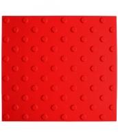 Platte aus Polyurethan 413x450x6mm, 25mm Noppen